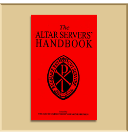 The Altar Server's Handbook of The Archconfraternity of St. Stephen