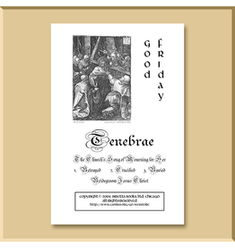 Tenebrae Service Booklet: Good Friday