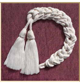 Hand-Braided Silk Cincture