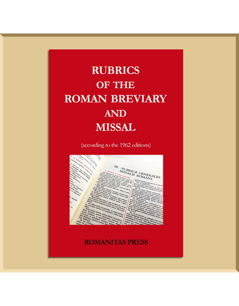 Rubrics of the Roman Breviary and Missal (1962 Edition)