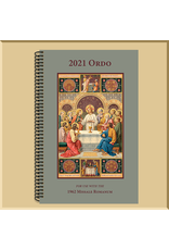 2021 Ordo for the 1962 Missale Romanum