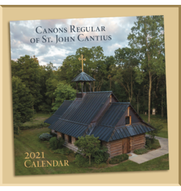 2021 Canons Regular of St. John Cantius Calendar