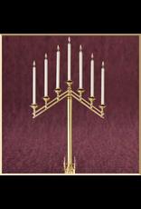 Sudbury Brass San Pietro 7-Light Floor Candelabra - Adjustable