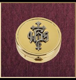 Sudbury Brass IHS Pyx - Gold Plated