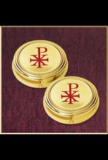 Sudbury Brass Chi Rho Hospital Pyxes