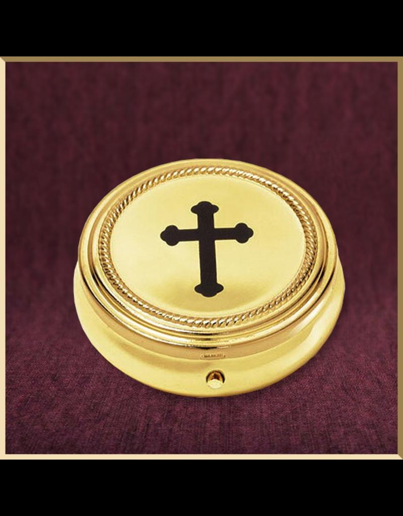 Sudbury Brass Budded Cross Pyx