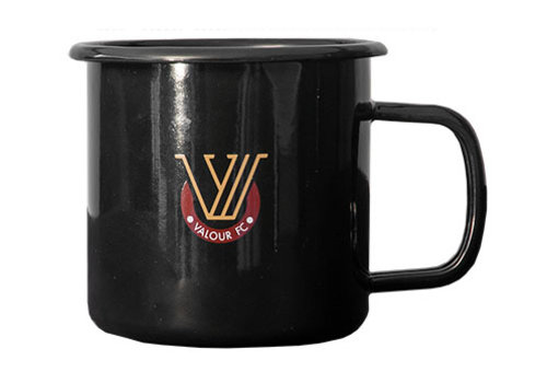 Valour Mark Enamel Metal Cup