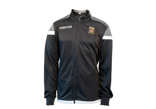 Macron Youth Home Anthem Black Jacket