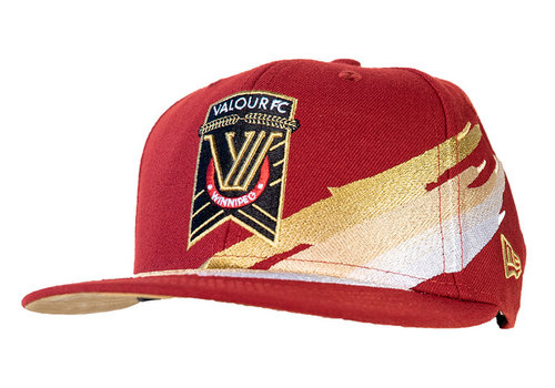 New Era 9Fifty Valour FC Brush Snapback Cap