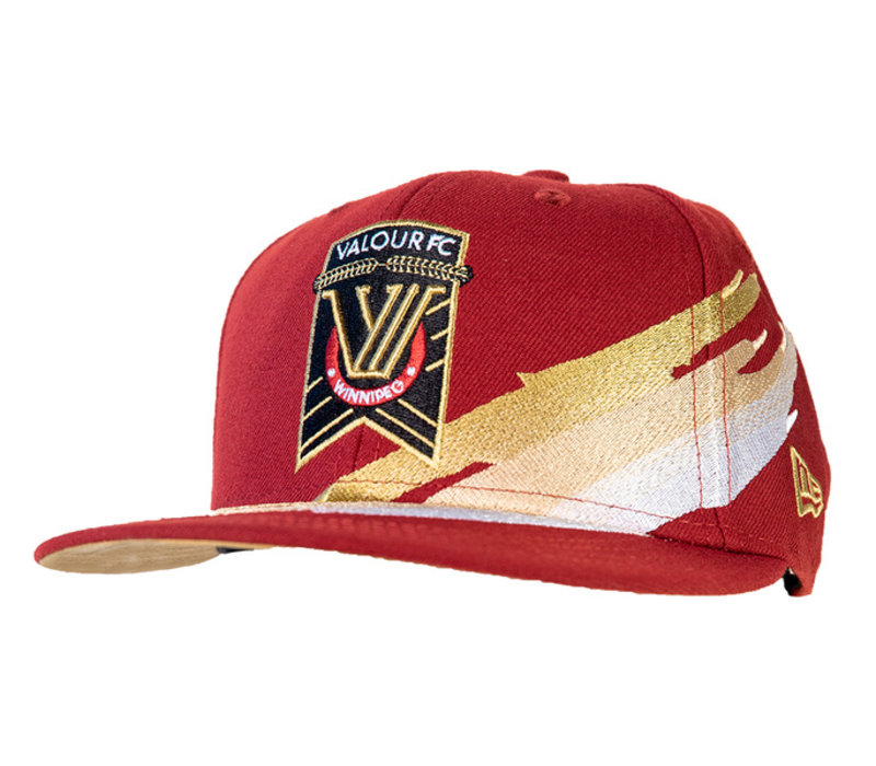9Fifty Valour FC Brush Snapback Cap