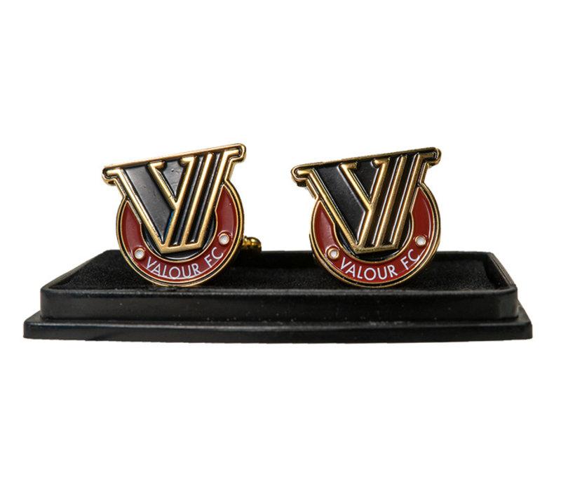Valour FC Crest Cufflinks