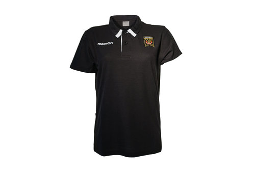 Canadian Premier League Women's Black Crest Polo