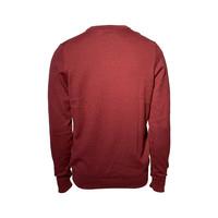Osborne V-Neck Maroon Sweater