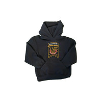 Youth VFC Crest Black Pullover Hoodie