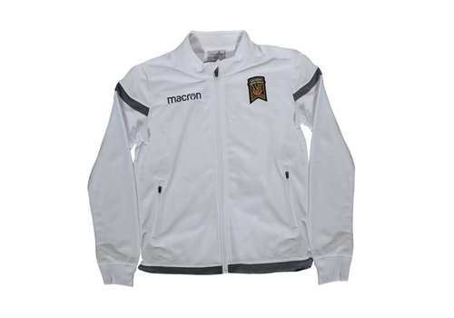 Macron Youth Away Anthem White Jacket