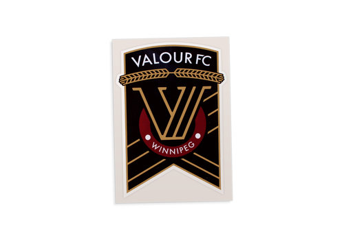 Dave's Quick Print Valour FC Car Window Decal