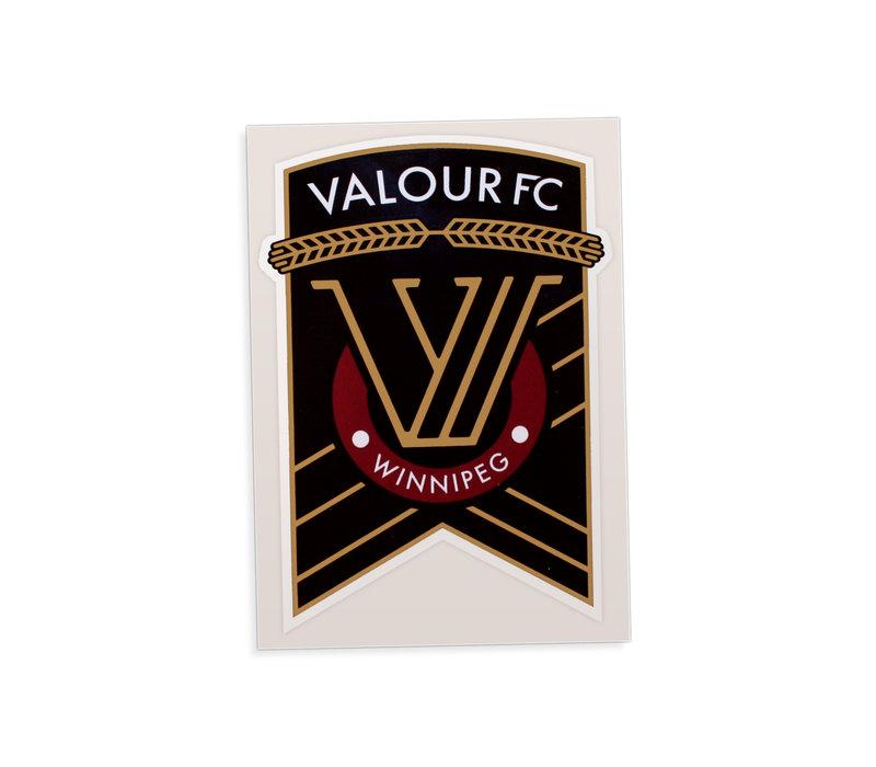 Valour FC Car Window Decal