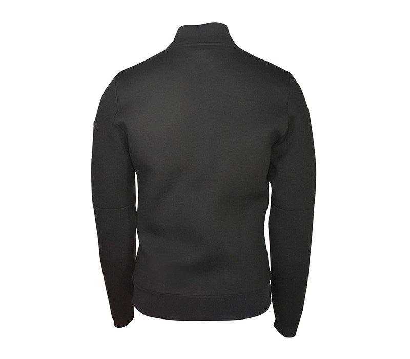 Valour Black Athleisure Scuba Full Zip