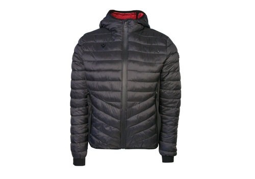 Macron Valour Athleisure Black Padded Jacket