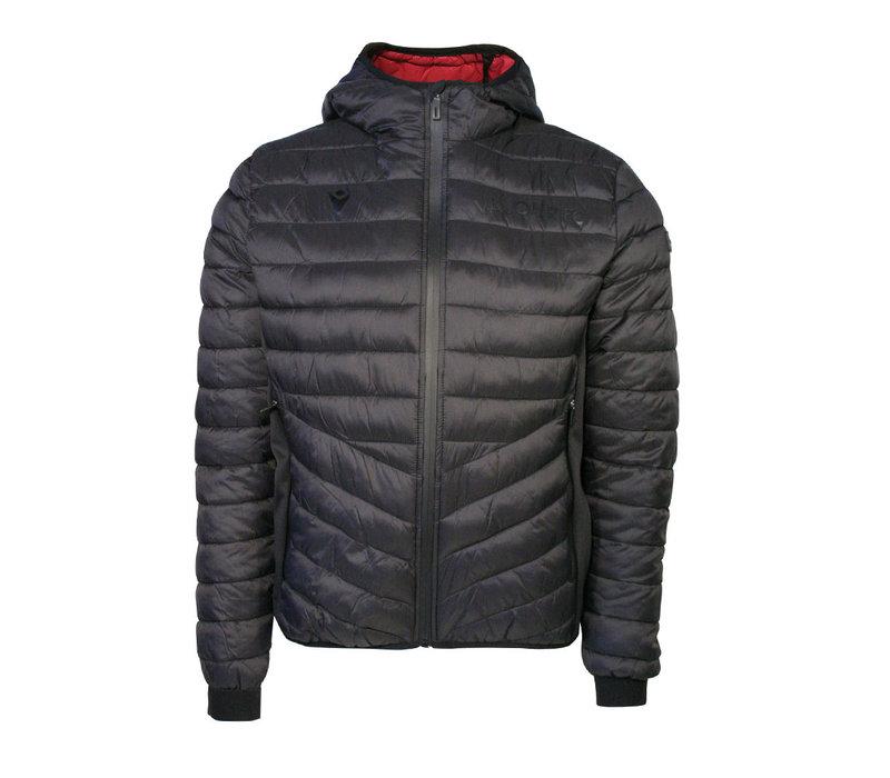 Valour Athleisure Black Padded Jacket