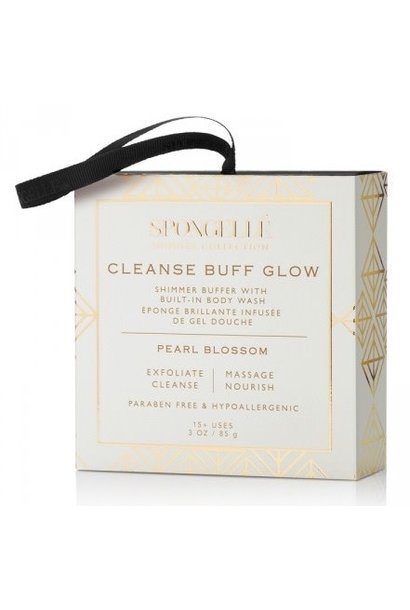 pearl blossom body wash infused buffer silver