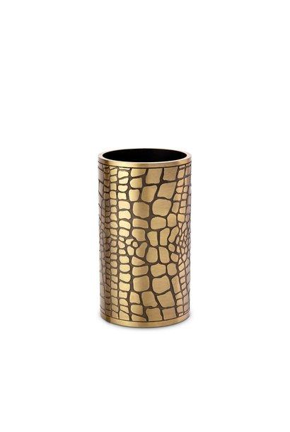 crocodile small vase
