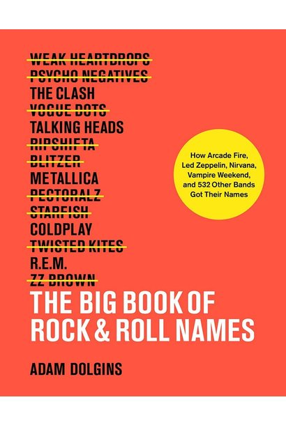 big book of rock & roll names