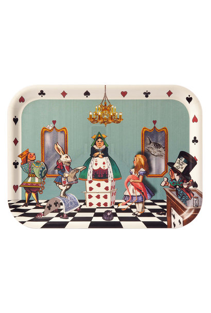 Alice in court of hearts tray 8x10.5