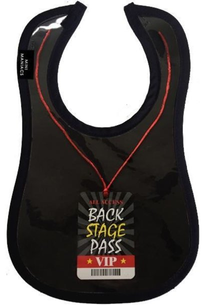 backstage pass bib