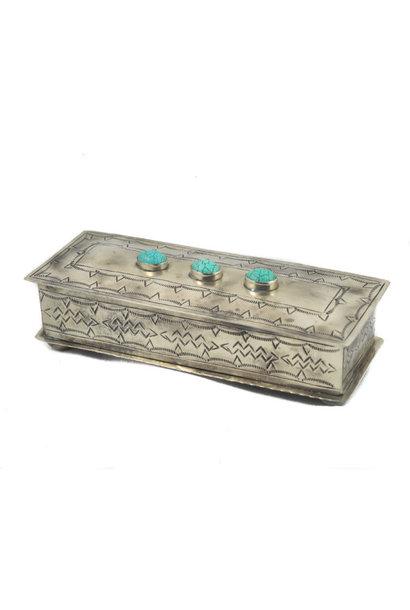 JA2 stamped eyeglass box