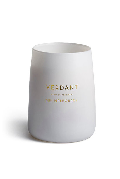 verdant white candle