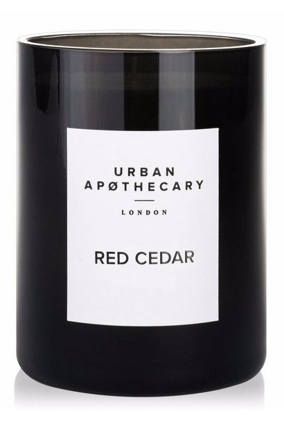 red cedar luxury candle