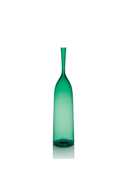 emerald large angelic bottle