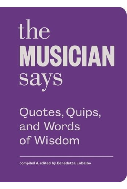 musician says book