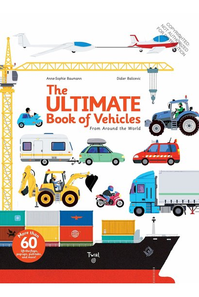 ultimate book of vehicles book