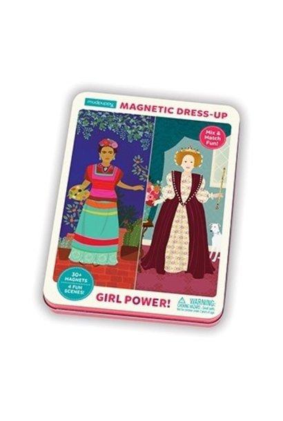girl power magnetic figures