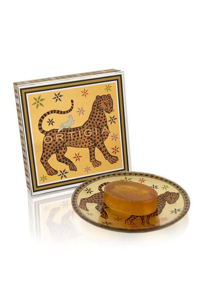 ambra glass plate + soap