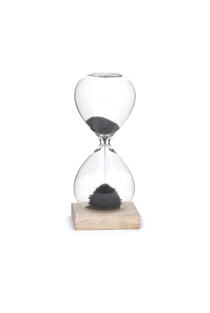 hourglass magnetic sand minute timer