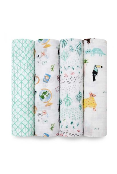 around the world swaddle s/4