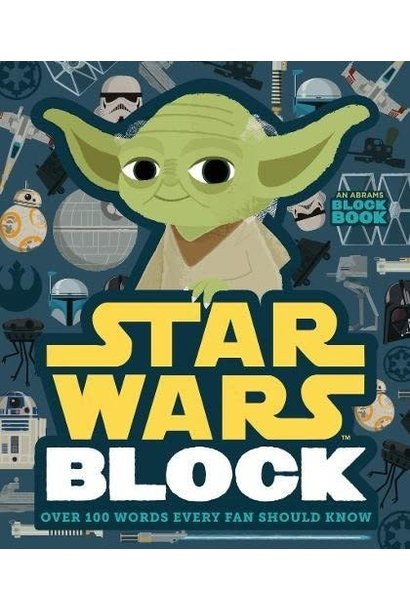 star wars block: over 100 words book