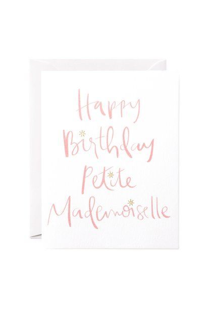 petite mademoiselle card