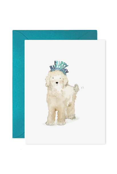 lucy dog birthday card