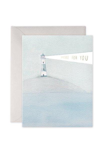 lighthouse beacon card