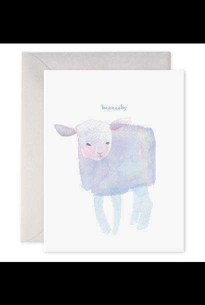 baaaby baby card