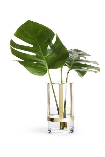 gold hold vase large