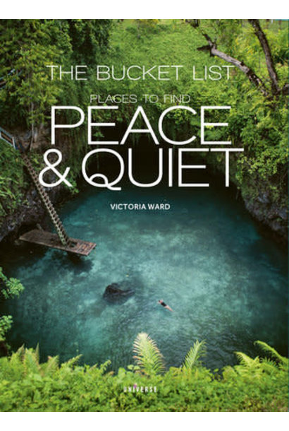 bucket list: places to find peace book