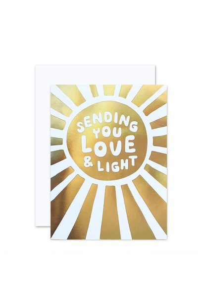 love & light card