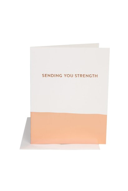 sending strength card