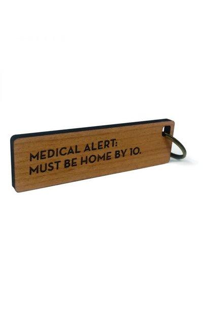 medical alert key tag