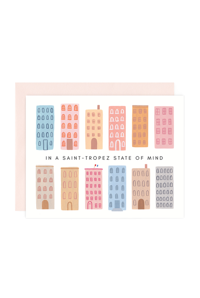saint tropez state of mind card